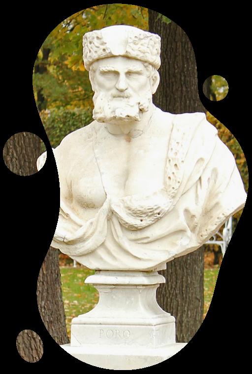 Poros standbeeld